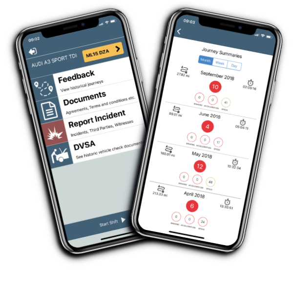 Vehicle Check App available from Parksafe on Demand